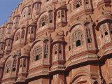 Hawa Mahal  Palace of Winds  Facade from Which Ladies in Purdah Looked Outside  Rajasthan  India
