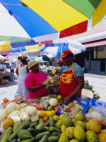 Market in the Capital City of Castries  St Lucia  Windward Islands  West Indies  Caribbean
