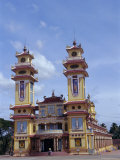 Cao Dai Temple  Synthesis of Three Religions  Confucianism  Vietnam  Indochina