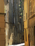Narrow Sunlit Street in Old Aix  Provence-Alpes-Cote-D'Azur  France