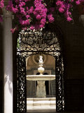 View Through Wrought Iron Gateway to the Patio Principal  Andalucia (Andalusia)  Spain