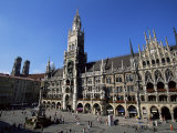 City Hall on Marienplatz  Munich  Bavaria  Germany  Europe