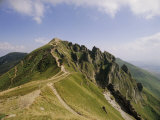 Summit of Puy De Sancy  Puy De Dome  Park Naturel Regional Des Volcans d'Auvergne  France