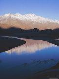The Indus River at Skardu (2 300M)  Pakistan