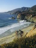 Ninety Miles of Rugged Coast Along Highway 1  California  USA