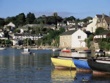 Across Water from Noss Mayo to the Village of Newton Ferrers  Near Plymouth  Devon  England  UK