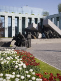 Monument to the Warsaw Uprising  Unveiled in 1989 on the 45th Anniversary of the Uprising  Poland