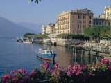 Lakeside Architecture  Bellagio  Lake Como  Lombardia  Italy