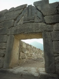 Lion Gate  Mycenae  Unesco World Heritage Site  Greece  Europe