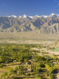 Indus Valley and Stok-Kangri Massif  Leh  Ladakh  Indian Himalayas  India  Asia
