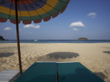 Wiew from a Sunbed  Kata Beach  Phuket  Thailand