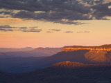 The Blue Mountains  Unesco World Heritage Site  New South Wales  Australia  Pacific