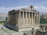 Temple of Bacchus  Baalbek  Lebanon  Middle East