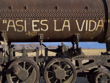 That&#39;s Life  Train Graveyard  Uyuni  Bolivia  South America