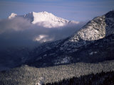 Looking West from the Top of Whistler  Whistler  British Columbia  Canada  North America
