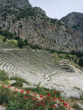 Theatre  Delphi  Unesco World Heritage Site  Greece  Europe