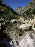 Gorges De La Restonica  Bergeries De Grotelle  Corsica  France  Europe