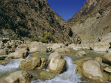 River in the Khyber Pass  Afghanistan
