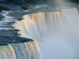 The American Falls at the Niagara Falls  New York State  USA