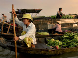 Cai Rang Floating Market on the Mekong Delta  Can Tho  Vietnam  Indochina  Southeast Asia  Asia