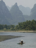 Li River  Guilin  Guangxi Province  China  Asia