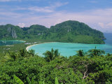 Koh Phi Phi  Limestone Island That Typifies the Coastline Around Phuket and Krabi  Thailand  Asia