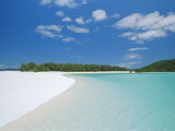 Whitehaven Beach on the East Coast  Whitsunday Island  Queensland  Australia