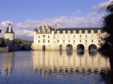 Chateau of Chenonceau  Indre Et Loire  Pays De Loire  Loire Valley  France  Europe