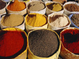 Sacks of Spices  Ouarzazate Market  Morocco  North Africa