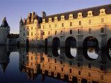 Chateau of Chenonceau  Indre Et Loire  Pays De Loire  Loire Valley  France  Europe