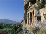 Rock Tomb  Dalyan  Lycia  Anatolia  Turkey  Asia Minor  Asia