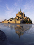 Mont Saint Michel (Mont-St Michel)  Manche  Normandie (Normandy)  France