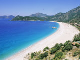 Bay of Olu Deniz  Fethiye  Lycia  Anatolia  Turkey  Asia Minor  Asia