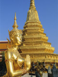 Wat Phra Kaeo  Grand Palace  Bangkok  Thailand  Asia