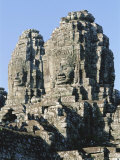 The Bayon Temple  Angkor  Siem Reap  Cambodia  Indochina  Asia