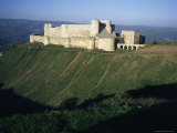 Crusader Castle  Krak Des Chevaliers  Near Homs  Syria  Middle East
