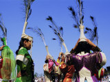 People in Costumes at the Naadam Festival  Ulaan Baatar (Ulan Bator)  Mongolia  Asia