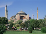 St Sophia Mosque (Aya Sofia) (Hagia Sophia)  Istanbul  Marmara Province  Turkey