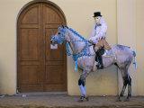 Oristano-La Santiglia Carnival  Sardinia  Italy  Europe