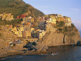 Village of Manarola  Cinque Terre (Unesco Site)  Ligurie  Italy