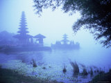 Hindu Temple of Bataun in the Mist  Island of Bali  Indonesia  Southeast Asia  Asia