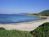 Chia Beach  South Coast  Island of Sardinia  Italy  Mediterranean  Europe