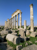 Archaeological Site of Apamea  Syria  Middle East