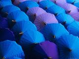 Umbrellas  Bo Sang  Thailand  Asia