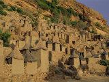 Village of Banani  Sanga (Sangha) Region  Bandiagara Escarpment  Dogon Region  Mali  Africa