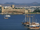 Chateau Saint Pierre  Bodrum  Egee Region  Anatolia  Turkey  Asia Minor  Asia