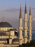 The Blue Mosque (Sultan Ahmet Mosque)   Istanbul  Marmara Province  Turkey