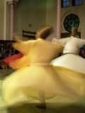 Whirling Dervishes  Sufis Dancing  Istanbul  Turkey  Europe
