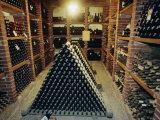 Wine Cellar  Chateau Verrazzano  Chianti  Tuscany  Italy  Europe
