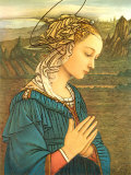 Virgin in Adoration (detail)